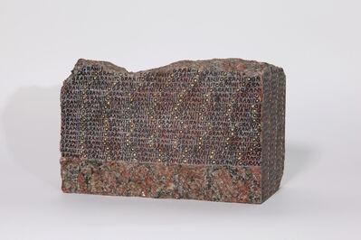 Greta Schödl, 'Granito rosso Sierra Chica [Red Sierra Chica granite]', 2020
