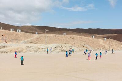 Lisa Barnard, 'Pallaqueras playing football, Santa Filomena, Andes, Peru', 2016