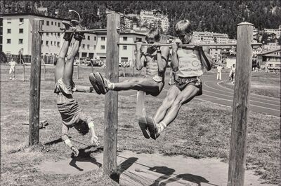 Leonard Freed, 'Suisse environs de saint Moritz'