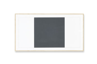 Alan Charlton, 'Canvas Drawing', 2001