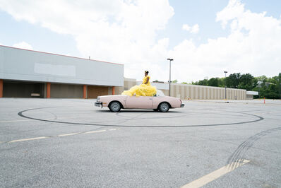 Katherine Simone Reynolds, 'Sit Still (Sitting on Car)', 2017