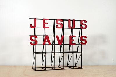 Drew Leshko, 'Jesus Saves Rooftop', 2019