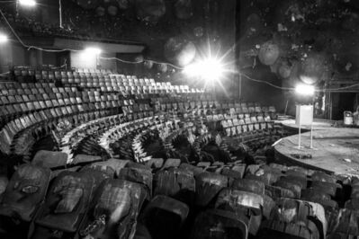 David Goldblatt, 'The 1000 seat Sanlam Auditorium of the University of Johannesburg, destroyed by arson at 02:00 on 15 May 2016', 2016