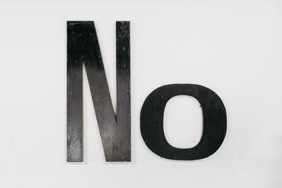 Jack Pierson, 'NO', 2019