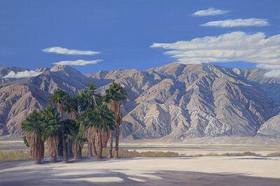 Mary-Austin Klein, 'Saline Valley - Palm Spring, Death Valley', 2015