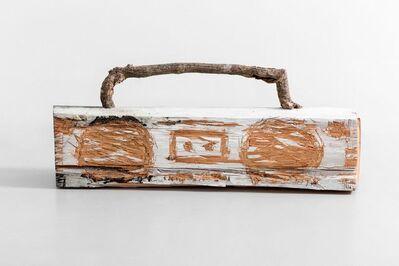Nestor Engelke, 'Wooden boombox', 2020