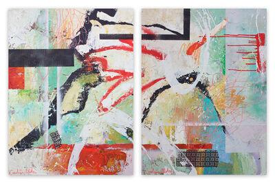 Carolina Alotus, 'Serendipity 1&2 (Abstract painting)', 2020