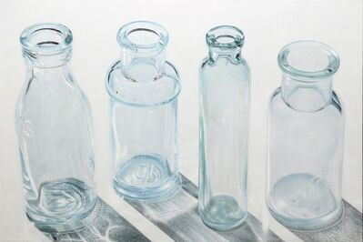 Greg Haynes, 'Four Clear Bottles', 2021
