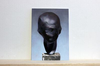 "Martí Cormand, 'Postcards to AZ: Edwin Sharff, ""Portrait of Anni Mewes, 1921""', 2017"