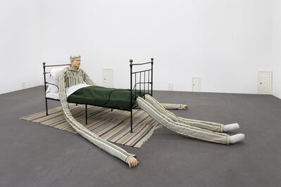 Peter Land, 'Untitled (Man in bed, small doors)', 2006