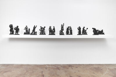 William Kentridge, 'Processione di Riparazioniste Maquettes', 2018