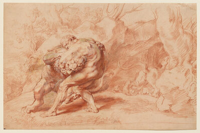Peter Paul Rubens, 'Hercules Strangling the Nemean Lion', ca. 1620