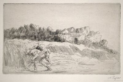 Alphonse Legros, 'Les Moissonneurs (The Reapers)', ca. 1890