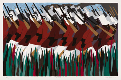 Jacob Lawrence, 'The March', 1995