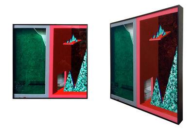 Peiqi Wang, 'Green glass and red box No.3', 2015