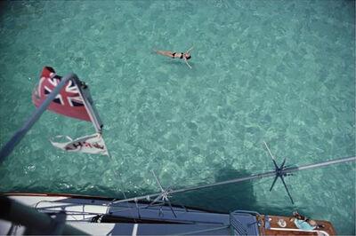 Slim Aarons, 'Swimming in Bermuda', 1977