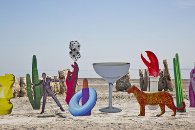 Marco Walker, 'La piscina - Bombay Beach Biennale 2017', 2017