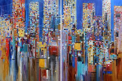 Ekaterina Ermilkina, 'A Dreamy Skyline (diptych)', 2018