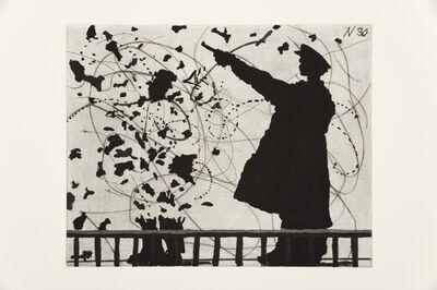 William Kentridge, 'Nose 30', 2009