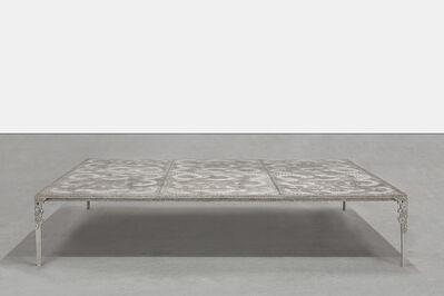 Ingrid Donat, 'Table Basse Anneaux (6 PAN07 Silver)', 2013