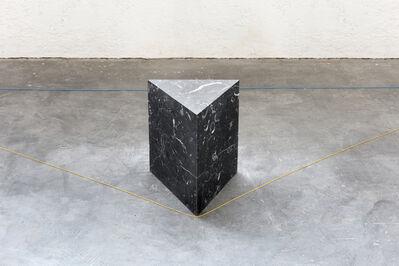 Gianni Caravaggio, 'Il buio separa il sole dall'Orizzonte', 2019