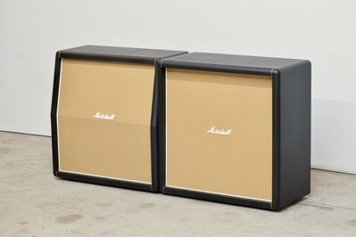 Kaz Oshiro, 'Marshall Speaker Cabinet (pair), horizontal', 2013