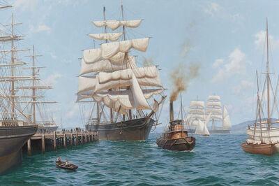 John Steven Dews, 'Glory of the Seas Entering San Francisco', 1919