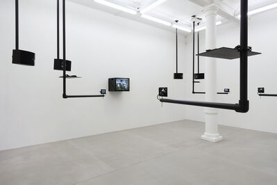 Dara Birnbaum, 'Tiananmen Square: Break-In Transmission', 1990