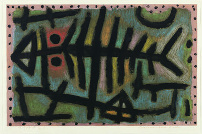 Paul Klee, 'Schlamm-Assel-Fisch (Mud-Woodlouse-Fish)', 1940