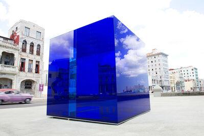Rachel Valdes Camejo, 'Blue Cube', 2015