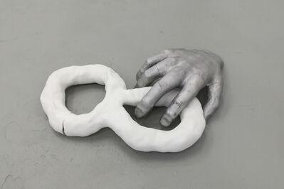 Barbara Kapusta, 'Hand and 8 (Reclining)', 2018
