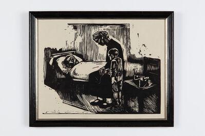 """Käthe Kollwitz, '""""Besuch im Krankenhaus""""', 1929"""