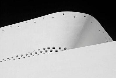 Luca Artioli, 'Miami Circles 1, Black and White Architectural photograph', 2016