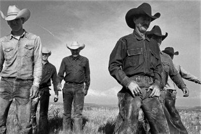 Laura Wilson, 'Cowboys Walking, J.R. Green Cattle Company Shackelford County, Texas, May 13, 1997 '