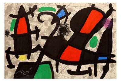 Joan Miró, 'Derriere Le Miroir'