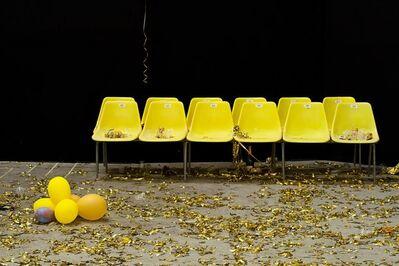 Elisa Von Brockdorff, 'Yellow Chairs (Panadols)', 2010