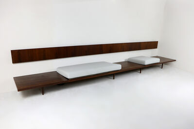 Joaquim Tenreiro, 'long bench', 1950s