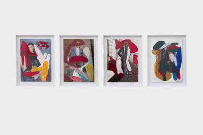 Herman Mbamba, 'Untitled 7, Untitled 3, Comethroughwithit, Sightstogesture', 2017