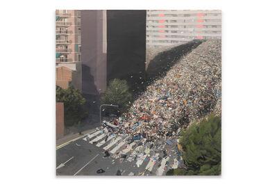 Pere Llobera, 'LA BASURA ENTRANDO EN LA CIUDAD', 2020