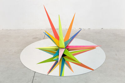 Okuda San Miguel, 'Kaos Star', 2016
