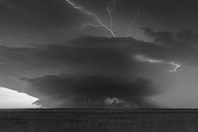 Mitch Dobrowner, 'Supercell at Dusk', 2014