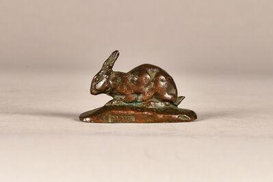 Antoine-Louis Barye, 'Rabbit', 19th century