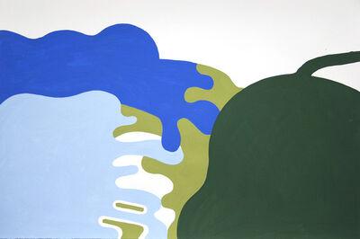 Sean Montgomery, 'Upstate Landscape Lake Forms', 2016