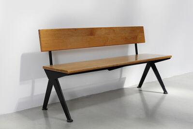 """Jean Prouvé, '""""Marcoule"""" bench', 1953"""