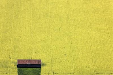 Klaus Leidorf, 'Yellow brown green', 2014