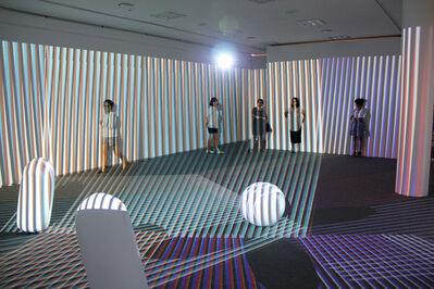 Carlos Cruz-Diez, 'Translucent Chromointerferent  Environment', 1974/2009