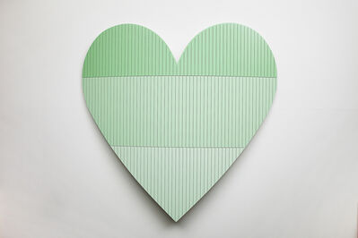 Nick Hollibaugh, 'Heart 3 (Green)', 2016