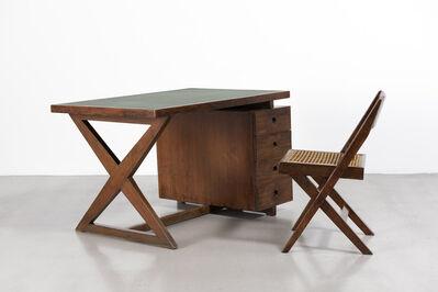 Pierre Jeanneret, 'Desk', ca.1960