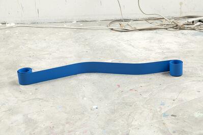 Ana Elena Garuz, 'Blue Ribbon No.3', 2016