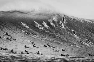 Dina Litovsky, 'Untitled (Surfers, including Bianca Valenti  and Paige Alms, at Maverick's)', 2018